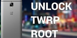 Unlock, TWRP and Root the OnePlus 3
