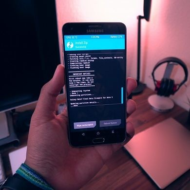 How To Flash Grace UX (Note 7) ROM
