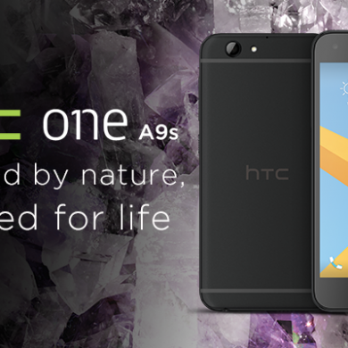 HTC One A9s is Now Official: 5″ 720p Display, Helio P10 in Tow