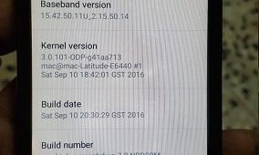 CyanogenMod 14 Based on Android 7.0 Booting on the HTC HD2