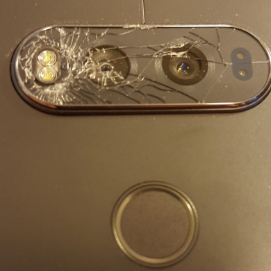 LG V20 Users Report Rear Camera Protective Glass is Brittle