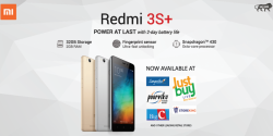 Xiaomi Brings the Redmi 3S+ to India via Retail Stores