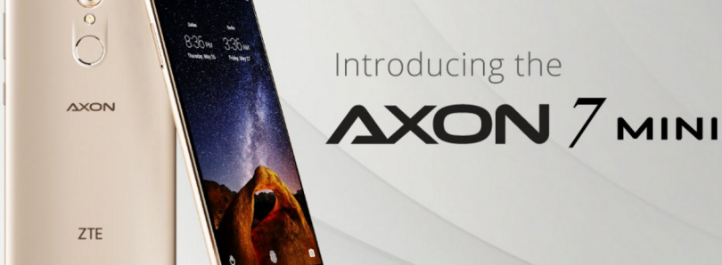ZTE Axon 7 Mini Now Available for Pre-Order