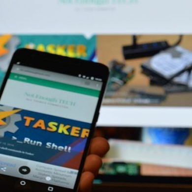 Create a Context Aware Fingerprint Reader in Tasker