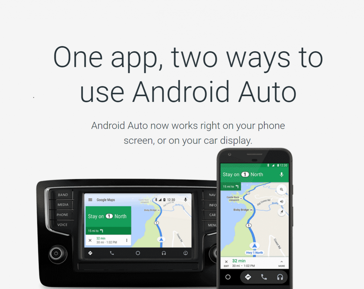 android auto now available for every car through updated app on smartphones. Black Bedroom Furniture Sets. Home Design Ideas
