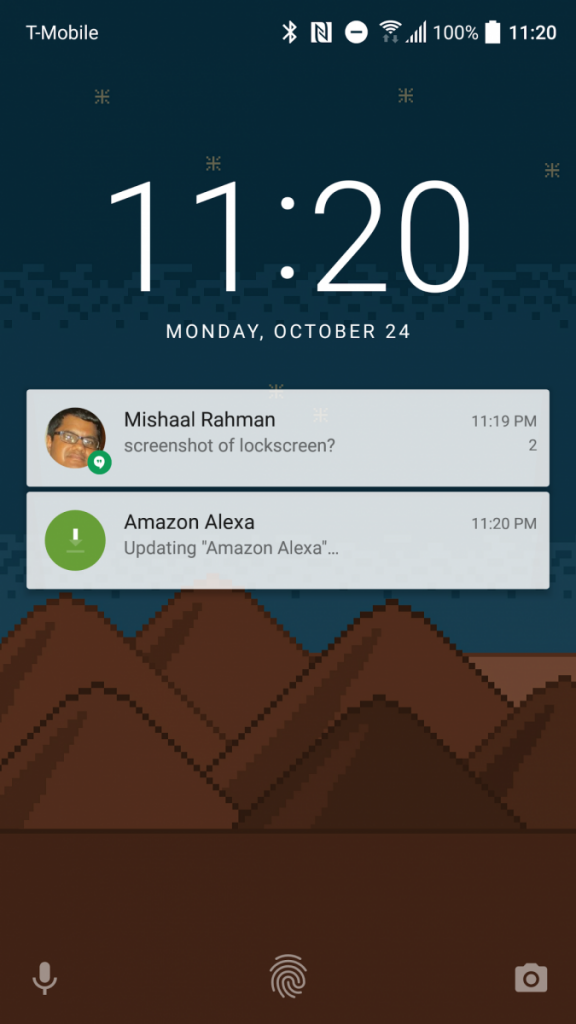 It's still possible to enable the AOSP Lock Screen on HTC