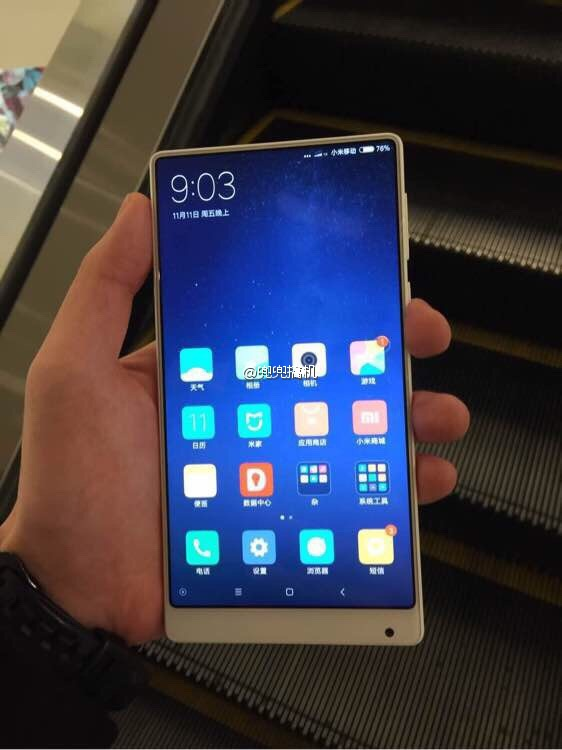 Photos Reveal an Unannounced Xiaomi Mi MIX in White | xda-developers