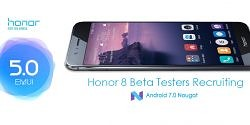 Want to Beta Test EMUI 5.0 (Nougat) on the Honor 8?