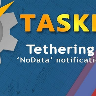 Use Tasker to Notify when your Tethered Devices lose Internet Access