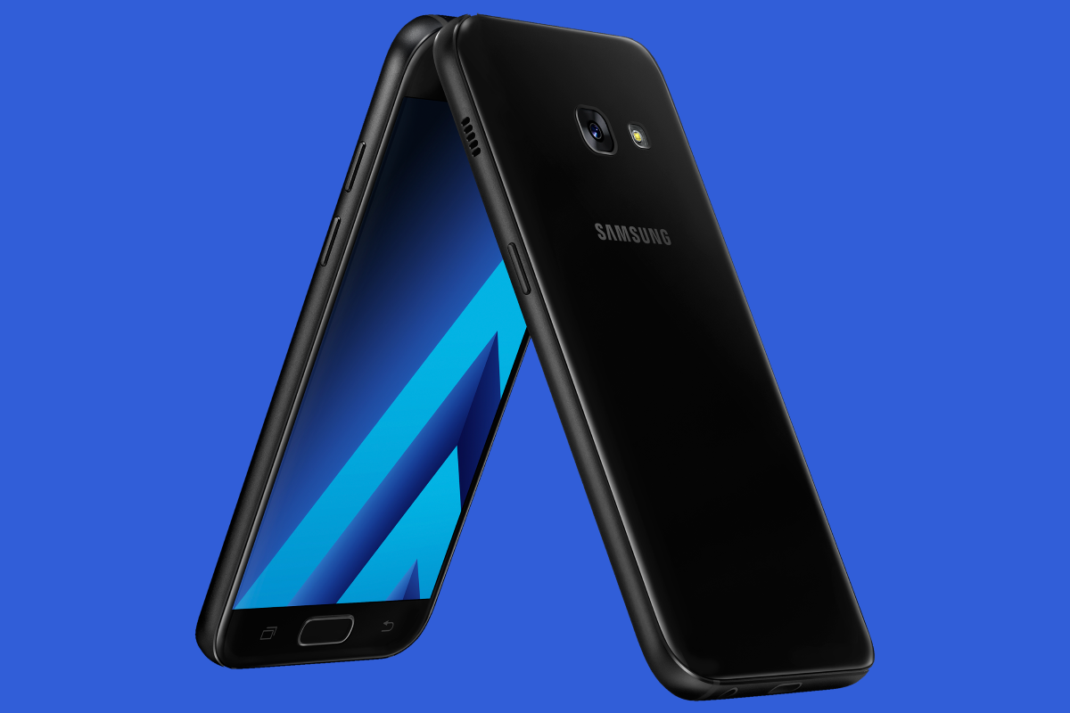 samsung introduces galaxy a series 2017 with ip68 rating and usb type c. Black Bedroom Furniture Sets. Home Design Ideas