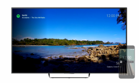Marclay Displays Landscape Videos Behind Your Notifications on Android TV
