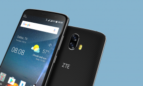 ZTE Unveils Blade V8 Pro and Project CSX Winner 'Hawkeye' at CES 2017