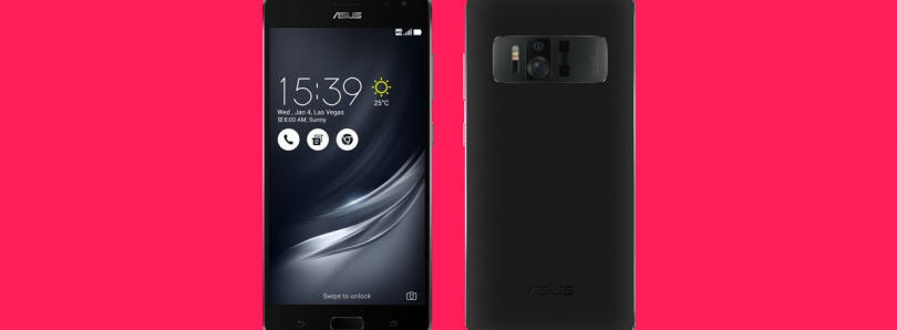 ASUS ZenFone AR is a New Project Tango and Daydream-Ready Phone Running on a Snapdragon 821