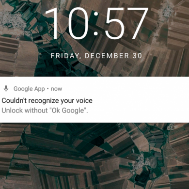Google Acknowledges a Bug That Prevents a Trusted Voice from Unlocking the Phone