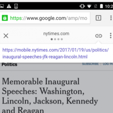 Google Will Make it Easier to Share the Original URL on an AMP Site