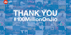 Reliance Jio Crosses 100 Million Subscribers in India in 5 Months, Launches Jio Prime Subscription Plan