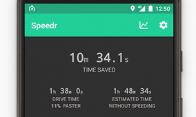 Speedr Helps you Figure Out if Speeding Really Saves You Time on the Road