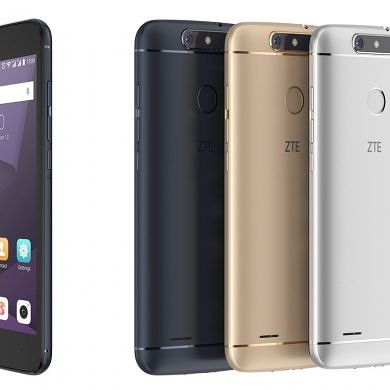 ZTE Debuts the Blade V8 Lite and Blade V8 Mini at MWC 2017