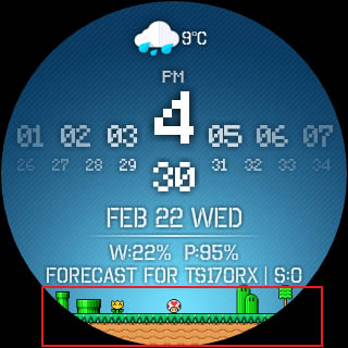Minimal & Elegant Watch Face with Tasker integration [Giveaway