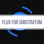 Introducing FLUX for Substratum — Dark and Blue Paid Theme