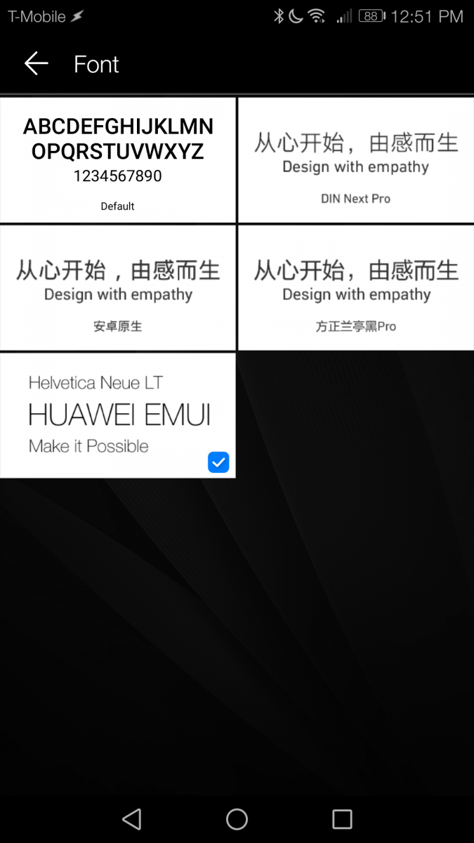 How to Change the Font Style on EMUI 5 0 [No Root] - Allcellphones