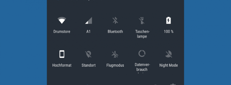 Flashable Zip for Enabling 5 or 7 Quick Settings Toggles in a Row on OnePlus 3T Oxygen OS 4.1
