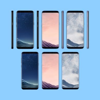 Samsung Galaxy S8 and S8 Plus Pricing Info and Color Variants Leaked
