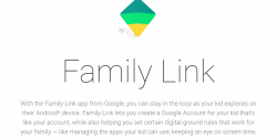 Google Announces the Parental Control Family Link Application