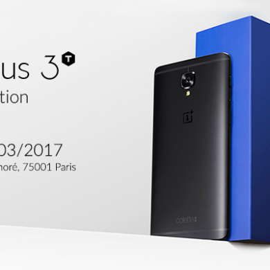 OnePlus Introduces the Black OnePlus 3T Colette Edition