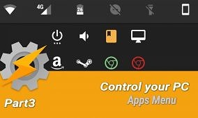 How to Control your PC from your Android Device with Tasker [Part 3 – Apps Menu]
