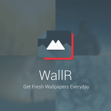 "WallR App Brings HD Wallpapers with Low Poly ""Crystallize"" Functionality"