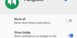 Android O Introduces Notification Badges on Homescreen