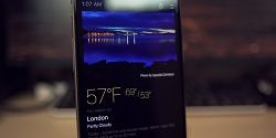 Today Weather, with its Dark Theme, is Perfect for AMOLED