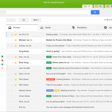 "Zive Introduces its Desktop G Suite Client called ""Kiwi for Gmail 2.0"" for Windows"
