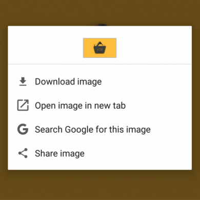 Chrome's new Custom Context Menu Revamps the Link/Image/Video Context Menu