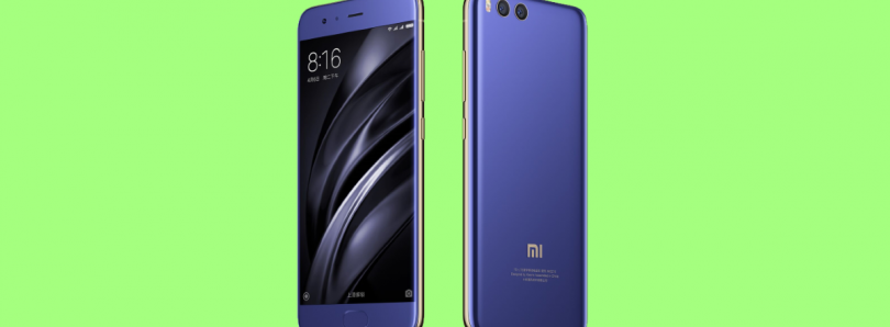 Xiaomi Launches the Mi 6 with Snapdragon 835, 6GB of RAM, Under-glass Fingerprint Sensor and No 3.5mm Headphone Jack