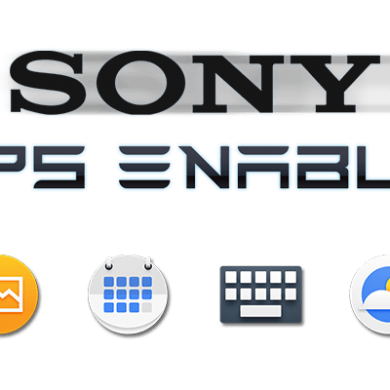 Sony Apps Enabler is a Mod that Allows you to Install Sony Apps from the Play Store