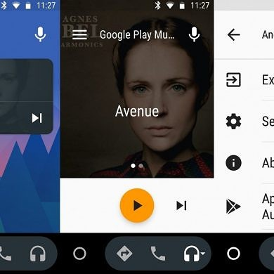 Android Auto 2.3 Hints at adding New Experimental Home Cards