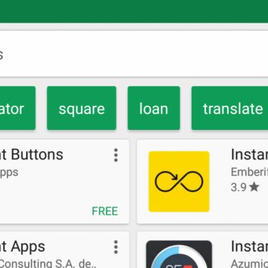 Play Store Search Suggestions appear to be more widely rolling out
