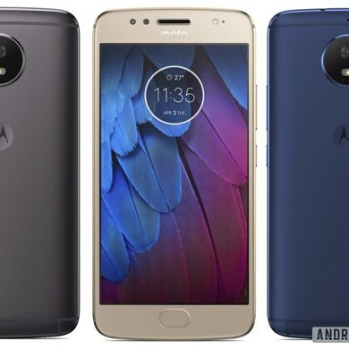 Leaked Renders Show Moto G5S Sporting Metal Uni-body in Three Color Options