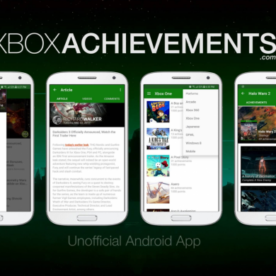 XA is an Unofficial XboxAchievements.Com Application