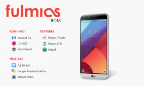 Fulmics ROM 3.0 Brings the LG UX 6.0 to the LG G5