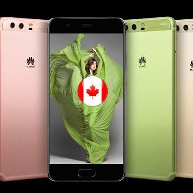 Huawei P10 and P10 Plus to Launch in Canada on June 6, 2017
