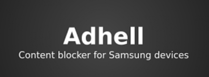 adhell is a free open source ad blocker with package disabler for samsung devices