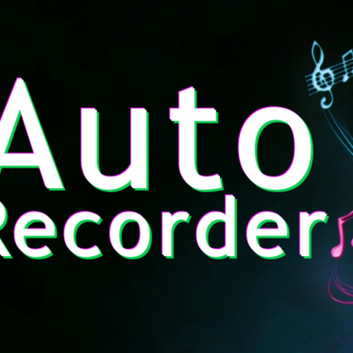 Auto Recorder Automatically Starts Recording When it Detects Audio Hits a Certain Level