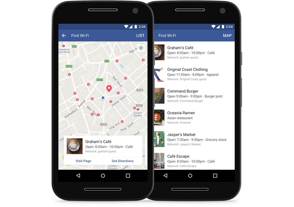 Here's how to use Facebook to find a Wi-Fi connection anywhere
