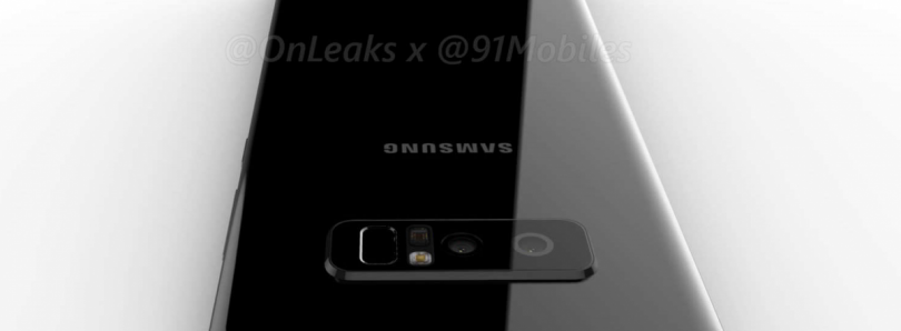 OnLeaks Reveals Device Renders of the Dual-Camera Samsung Galaxy Note 8