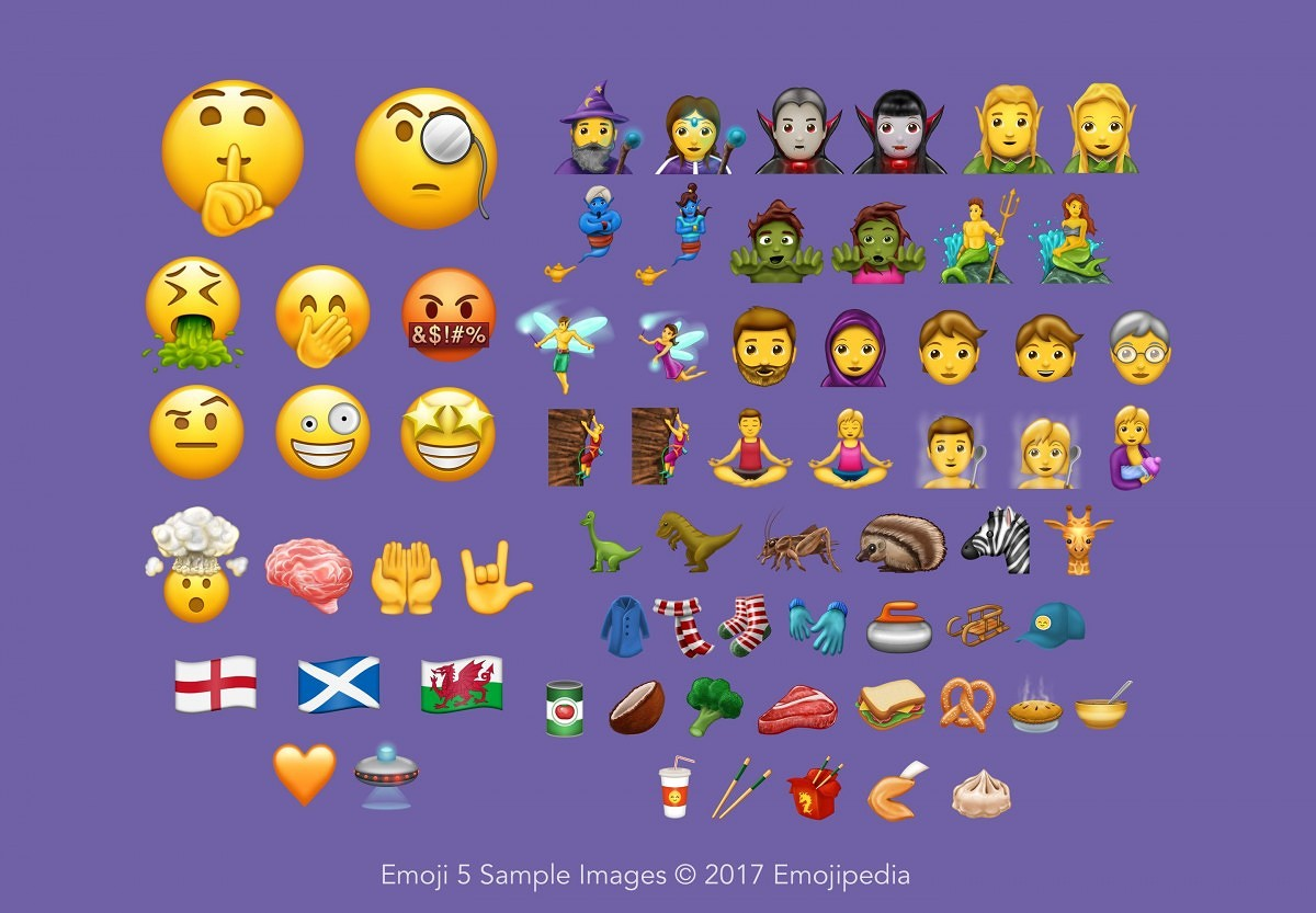 Unicode 10 officially released with 56 new emojis and a host of below you can see all emojis soon to be included in products from apple google microsoft or samsung biocorpaavc Image collections