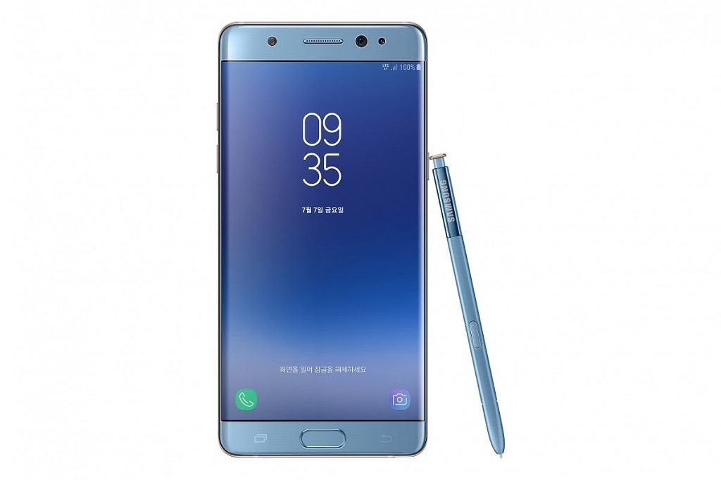 Galaxy Note 7 Fan Edition announced with 3200 mAh battery and Bixby