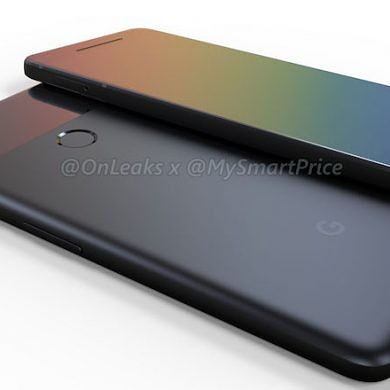 CAD Renders of the Pixel 2 and Pixel 2 XL Align with Previous Leaks and Rumors